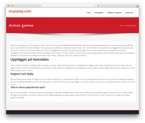 Content template WordPress - ucanplay.com