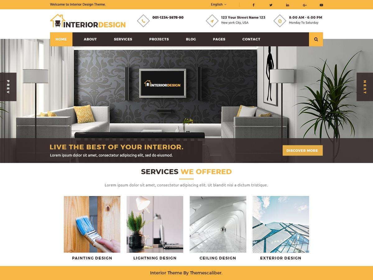 Interior Designs best WooCommerce theme