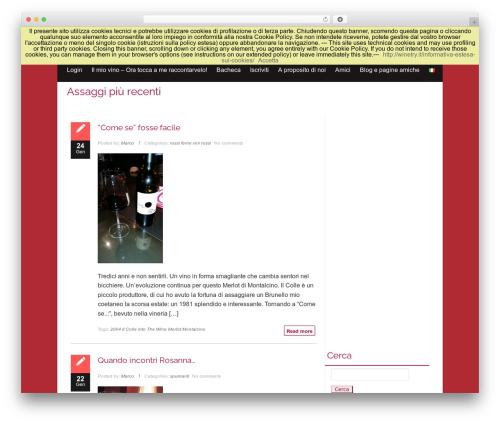 isis free WP theme - winetry.it