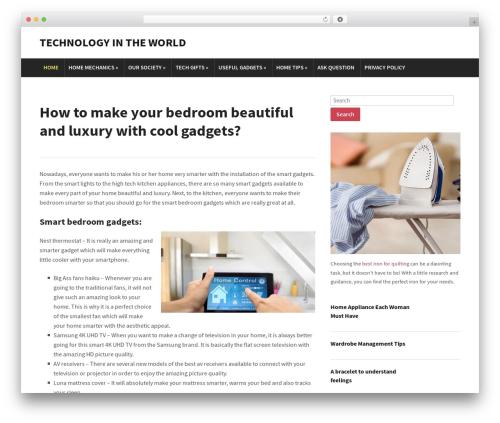 Modena WordPress page template - untiedmag.com