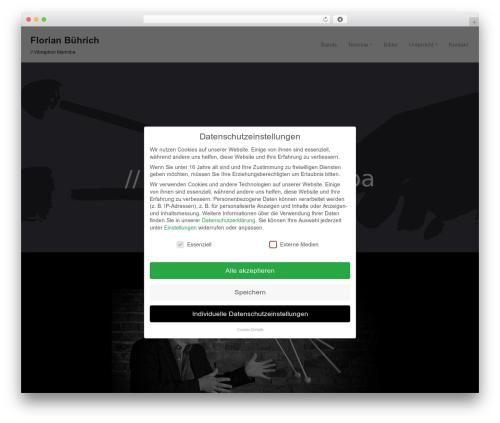 neve WordPress theme - florian-buehrich.de