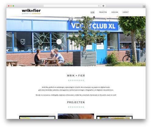 WordPress theme Beau - wrikenfier.nl