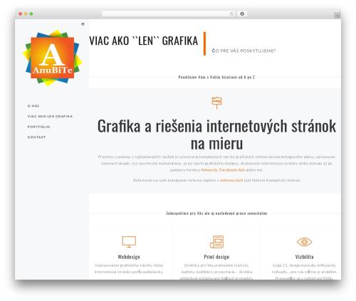 WP theme Euforia - anubite.sk