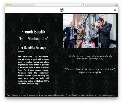 Odio best WordPress template - frenchboutik.com