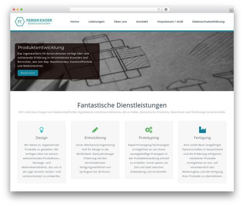 Theme WordPress BusiProf Pro - fk-konstruktionen.de