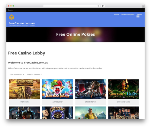 Best WordPress template VegasHero Sports Betting Theme - freecasino.com.au