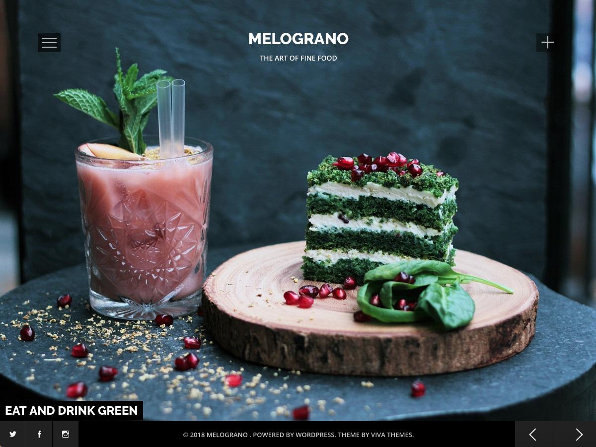 Melograno Lite WordPress blog template
