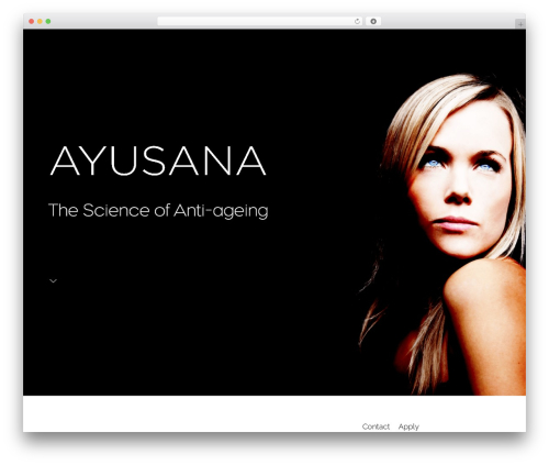 Movedo best WordPress template - ayusana.com
