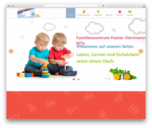 Template WordPress Kiddie - fz-viertmannkita.de