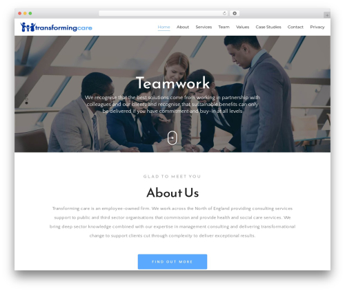 Best WordPress theme The Core Parent - transforming-care.co.uk