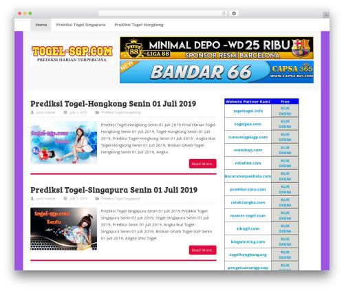 ktz freak WordPress page template - togel-sgp.com