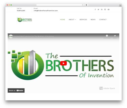 Terminus WordPress theme - thebrothersofinvention.com