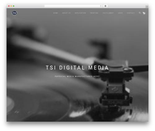 Theme WordPress ShopIsle PRO - tsidm.com