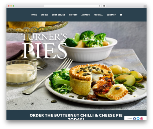 WordPress template Orao - turnerspies.co.uk