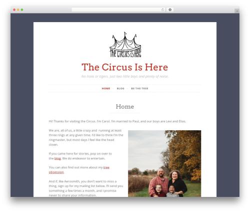 Button 2 WordPress theme - thecircusishere.com