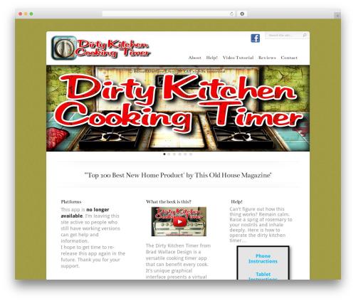 Chameleon WordPress theme - thedirtykitchen.com