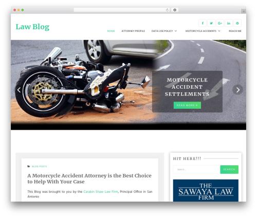 G Blog WordPress website template - texasmotorcyclelawfirm.com