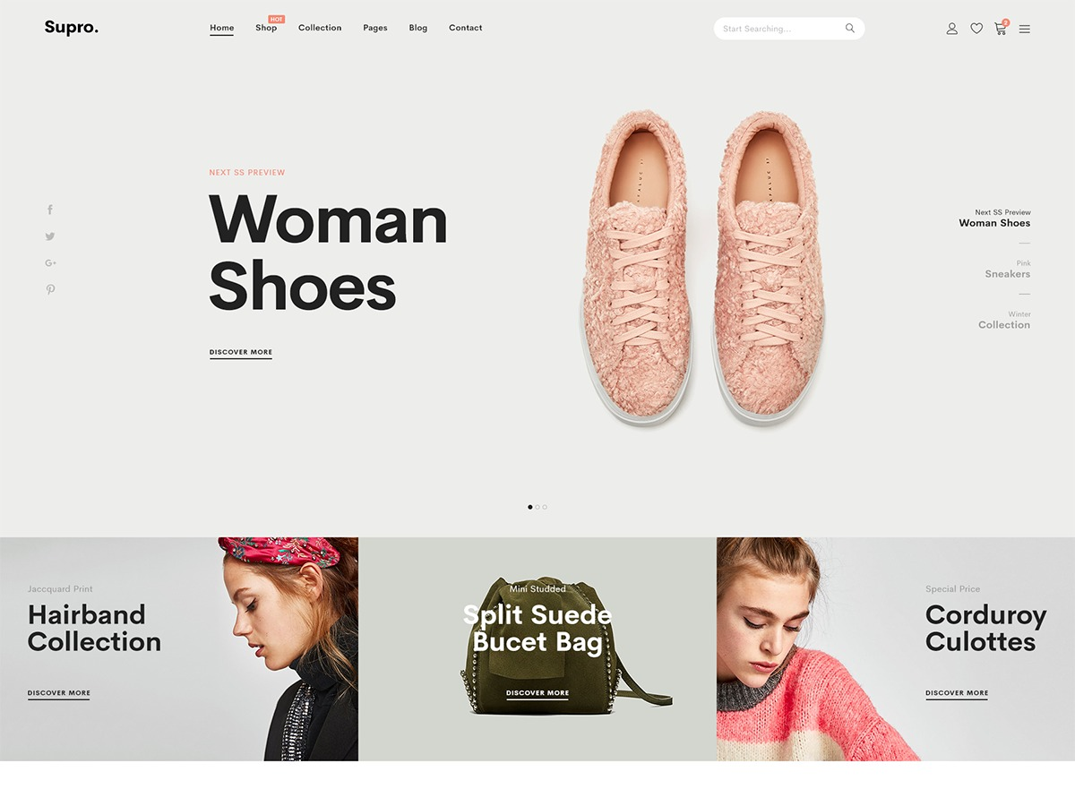 Supro best WooCommerce theme