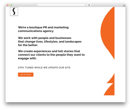 Template WordPress Bridge - theshermangroup.com