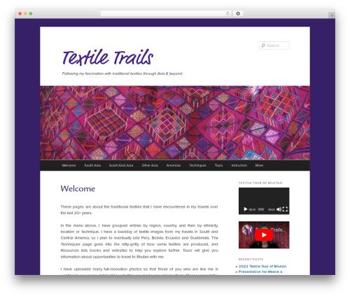 Twenty Eleven WordPress theme free download - textiletrails.com.au