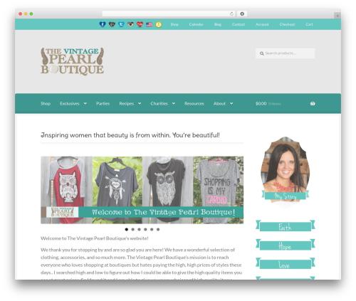 Boutique free website theme - tvpboutique.com