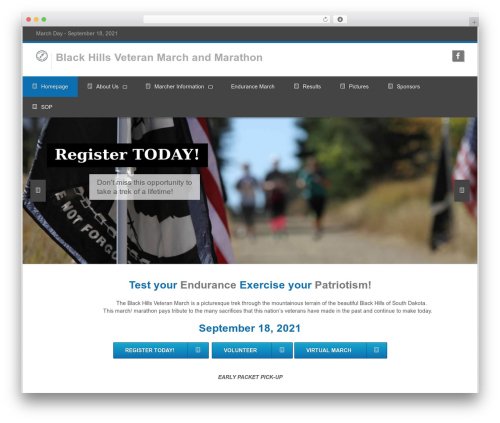 Clockwork WP best WordPress template - test.blackhillsveteranmarch.com