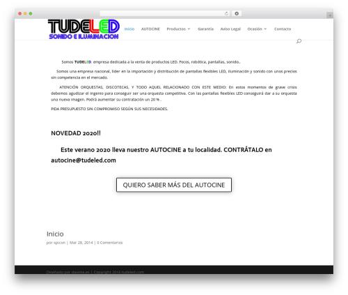 WordPress image-intense plugin - tudeled.com
