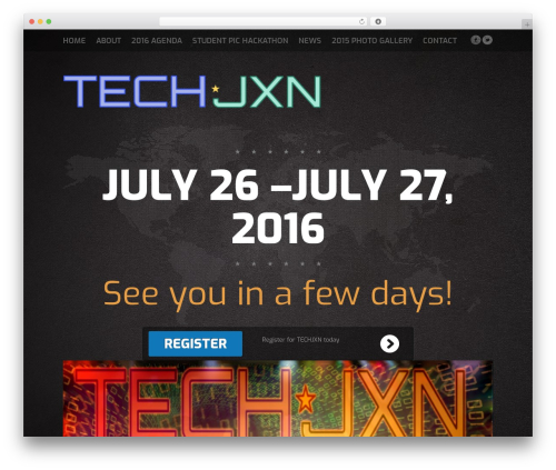 Fest WordPress theme - techjxn.com