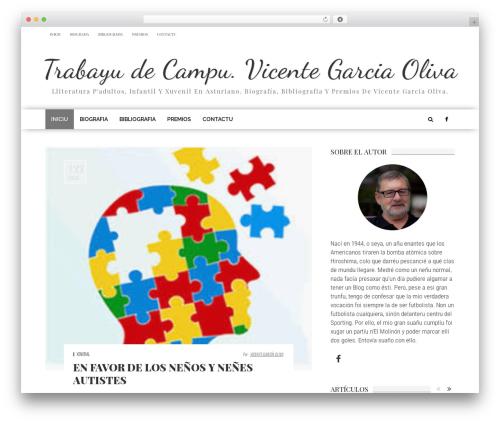 fmagazine WordPress news theme - trabayudecampu.com
