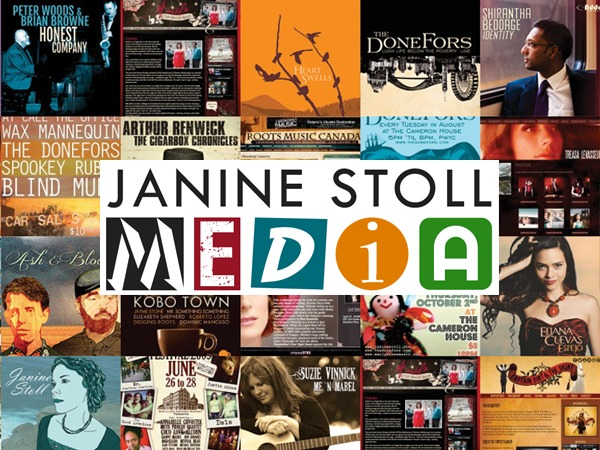 Janine Stoll Media WordPress theme