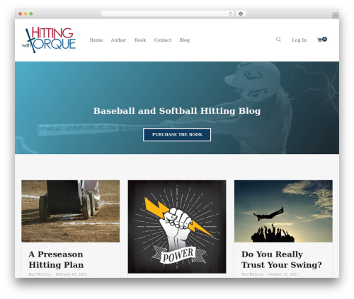 Livre best WordPress theme - torque-hitting.com