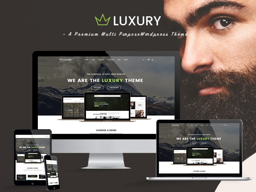 Luxury WP Child WordPress shop theme