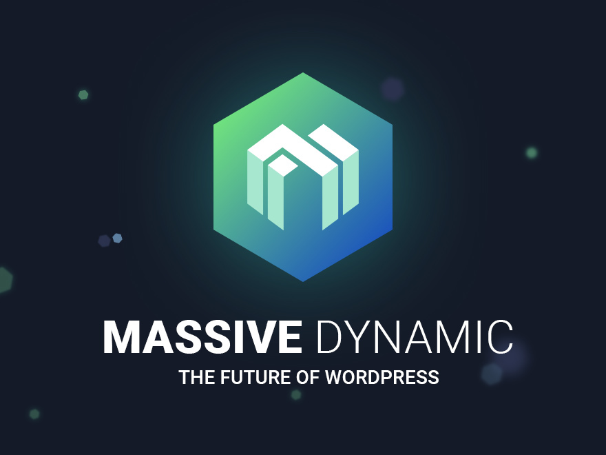 Massive Dynamic - shared on wplocker.com WordPress theme