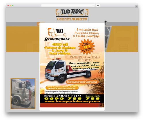 PressCore top WordPress theme - transport-derussy.transport-marchandise-guadeloupe.com