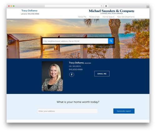 Residential - Theme 1 business WordPress theme - tracyderamo.michaelsaunders.com