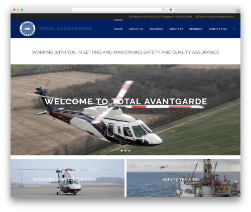 Retigo WordPress theme design - totalavantgarde.com