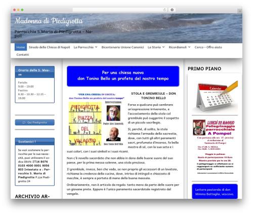 SG Diamond template WordPress free - madonnadipiedigrotta.it