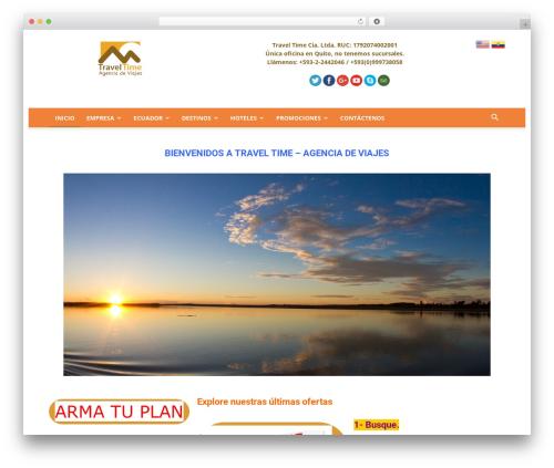 WordPress popup-press plugin - traveltime.com.ec