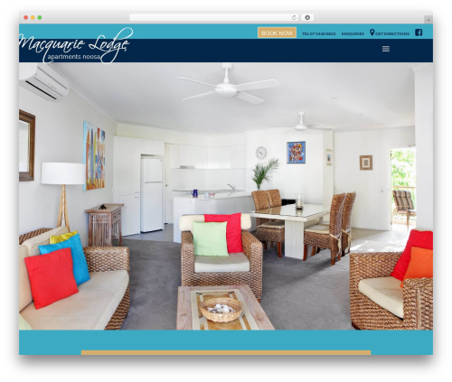 Theme WordPress Divi - macquarielodge.com.au