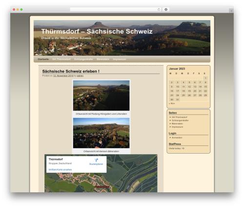 Free WordPress WP-Cirrus plugin - thuermsdorf.com