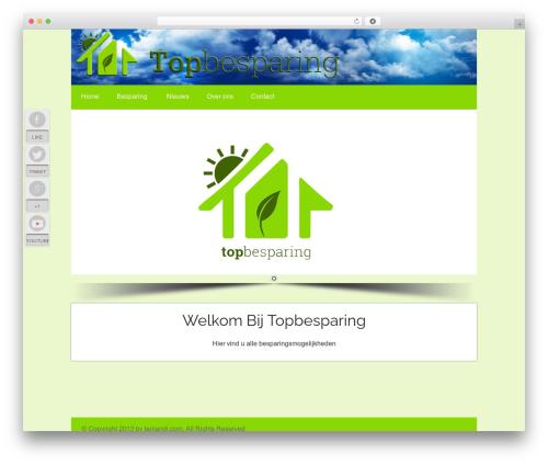 WordPress theme Osiris - topbesparing.nl