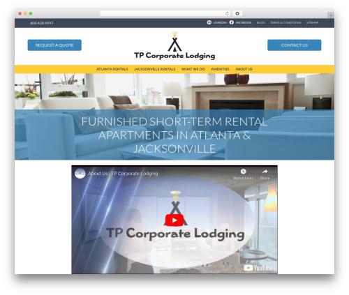 Free WordPress TablePress plugin - tpcorporatelodging.com