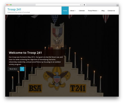 Chilly WordPress theme - t241.com