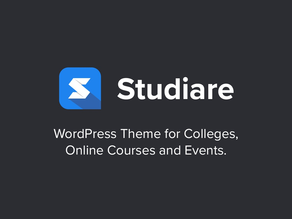 Studiare WordPress template for business