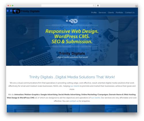 AccessPress Staple Pro top WordPress theme - trinitydigitals.com