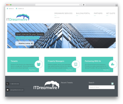 Arkitekt best WordPress template - itdreamwire.com