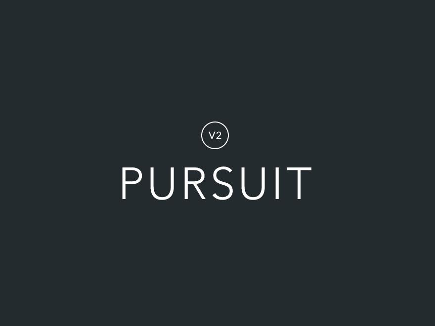 Pursuit - Child Theme top WordPress theme