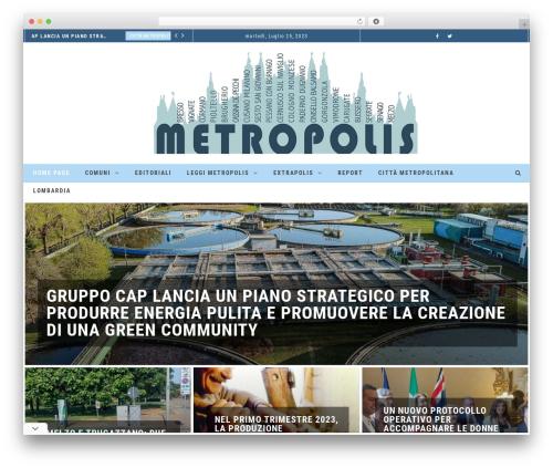 Template WordPress Neder - metropolisnotizie.press