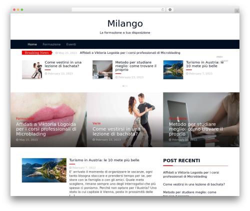 WordPress theme Magazine Blog - milango.it