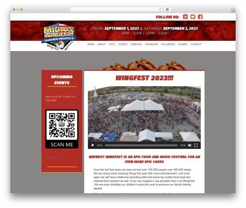 Beaver Builder Theme best WordPress theme - midwestwingfest.com